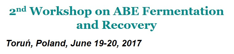 2nd Workshop on ABE Fermentation and Recovery